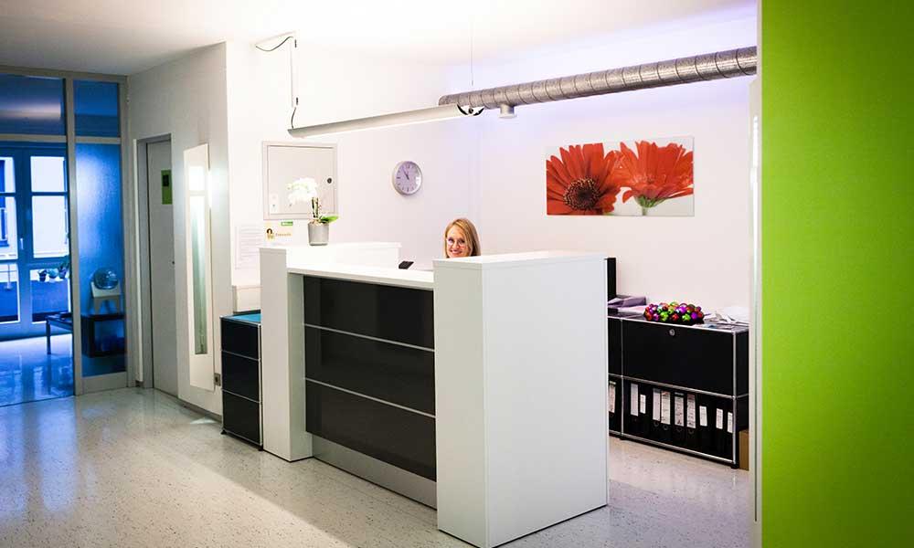 Zahnarzt in Radolfzell am Bodensee Empfang